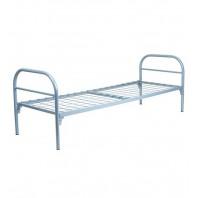 Кровати одноярусные металлические